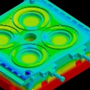 Thermal analysis delivers first-shot success in rubber injection molding (c) SIGMA Engineering GmbH